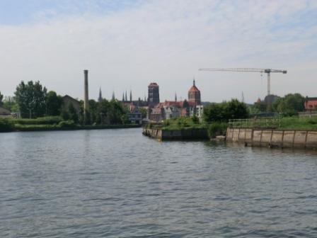 Danzig Einfahrt Altstadt