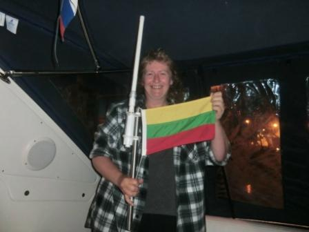Litauen Flagge