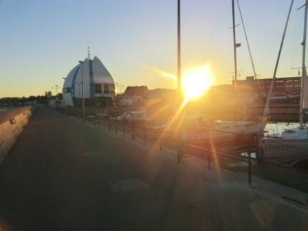 Litauen Sonnenaufgang Hel